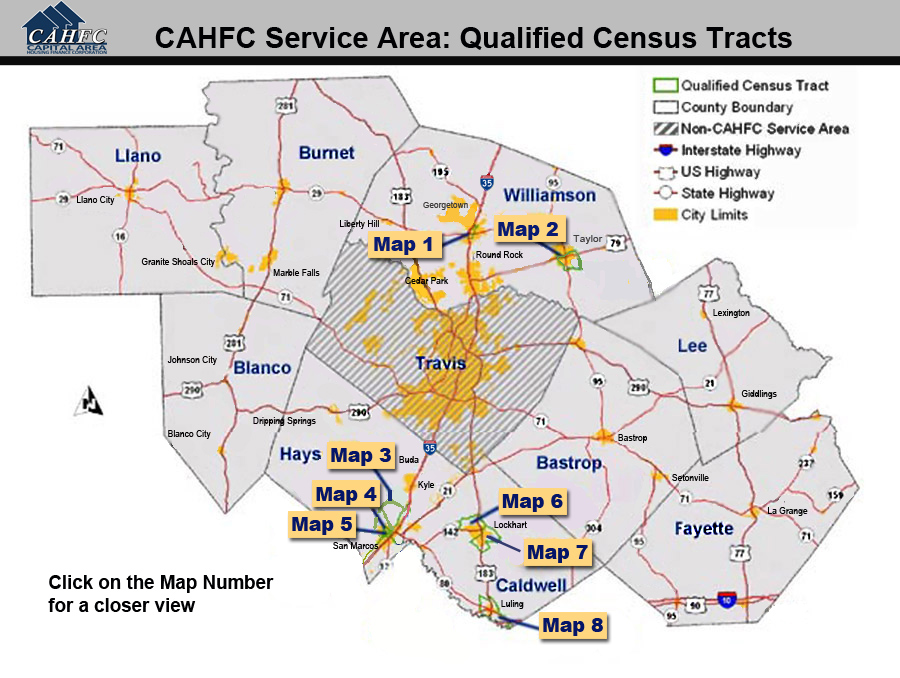 CAHFC » Qualified Census Tracts on